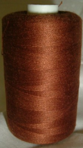 Polyester Sewing Machine Thread 1000 Metres Spools Chestnut - 1175
